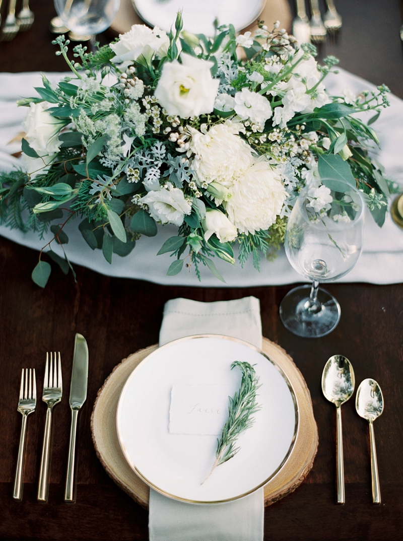 Organic table shot by film photographer Shannon Moffit